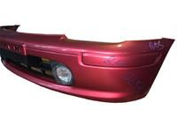 Бампер передний бордовый в сборе с ПТФ NISSAN MICRA / MARCH MICRA II / MARCH II K11 1992,1993,1994,1995,1996,1997,1998,1999,2000,2001,2002