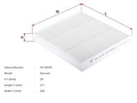 Фильтр салона HONDA CR-V V RW 2017-н.в. 2017,2018,2019,2020,2021