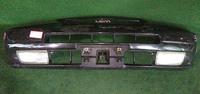 Бампер передний черный в сборе с ПТФ TOYOTA COROLLA LEVIN E110 1995-2000