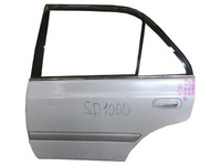 Дверь задняя левая белая в сборе (небольшая вмятина) TOYOTA CORONA PREMIO T210 1996-2001