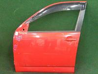 Дверь передняя левая красная в сборе TOYOTA RUSH J200 2006-2016