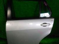Дверь задняя левая серебро в сборе NISSAN TIIDA LATIO SC11 2004,2005,2006,2007,2008,2009,2010,2011,2012