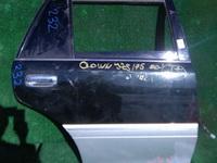 Дверь задняя правая темно-зеленая в сборе с накладкой TOYOTA CROWN S170 1999-2007
