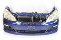 Ноускат синий бампер, суппорт, радиаторы, фары ксенон, ПТФ, решетки, парктроники, диффузор, усилитель, бачок (бампер трещина) (бампер трещина) TOYOTA IPSUM / PICNIC M20 M 20 2003,2004,2005,2006,2007,2008,2009