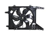 Диффузор вентилятора охлаждения радиатора в сборе под кондиционер, с мотором Уценка 50% (дефект крепления крыльчатки) NISSAN ALMERA G15RA 2013-н.в. 2013,2014,2015,2016,2017,2018,2019,2020,2021