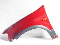 Крыло переднее левое красное в сборе с молдингом, повторителем FORD ESCAPE 2000,2001,2002,2003,2004,2005,2006