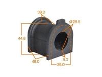 Втулка стабилизатора передней подвески TOYOTA HILUX N140 / N150 / N160 / N170 1997-2004
