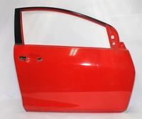 Дверь передняя правая красная MAZDA 2 DE 2007,2008,2009,2010,2011,2012,2013,2014