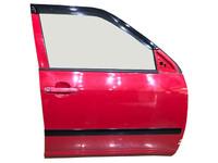 Дверь передняя правая красная в сборе (вмятины) TOYOTA PROBOX / SUCCEED XP 50 2002-2014