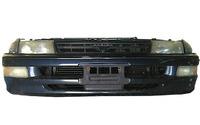 Ноускат синий бампер, суппорт, радиаторы, фары, ПТФ, поворотники, решетка, диффузоры, усилитель, бачок АКПП TOYOTA CARINA T190 1992-1996