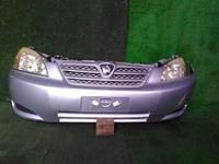 Ноускат серебро бампер, радиатор, суппорт радиатора, фара, усилитель, решетка радиатора, диффузор (трещина) TOYOTA ALLEX E120 2001-2006