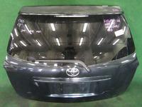 Крышка багажника черная в сборе со стеклом, спойлер, накладка хром, стеклоочиститель, замок TOYOTA COROLLA FIELDER E140 2006-2012