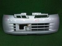 Бампер передний серый (потерт) NISSAN MOCO I G21 2001,2002,2003,2004,2005,2006