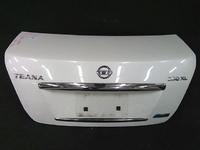Крышка багажника белая в сборе с камерой NISSAN TEANA J32 2008,2009,2010,2011