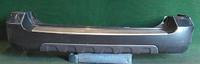 Бампер задний серый с хром-накладкой (потертости) HONDA MDX