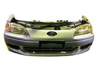 Ноускат в сборе бампер, суппорт, радиаторы, фары, диффузоры, усилитель, бачки 2WD АКПП TOYOTA CYNOS L50 1995-1999
