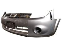 Бампер передний серый в сборе с решеткой (царапины) NISSAN LAFESTA