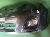 Бампер передний фиолетовый в сборе с ПТФ MAZDA MPV LY 2006,2007,2008,2009,2010,2011,2012,2013,2014,2015,2016