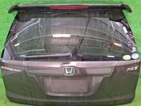 Крышка багажника серая в сборе со стеклом, спойлер, стеклоочиститель HONDA STREAM II RN6-RN9 2006,2007,2008,2009,2010,2011,2012,2013,2014