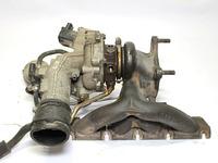 Коллектор выпускной с турбиной AUDI TT 8J 2006,2007,2008,2009,2010,2011,2012,2013,2014,2015