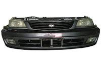 Ноускат серый в сборе бампер, суппорт, радиаторы, фары, решетка, диффузоры, усилитель TOYOTA CORONA PREMIO T210 1996-2001