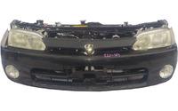 Ноускат черный в сборе бампер, суппорт радиатора, радиаторы, вентиляторы, фары, ПТФ, поворотники, усилитель АКПП TOYOTA COROLLA LEVIN E110 1995-2000