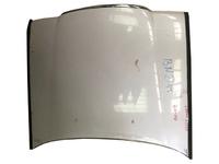 Капот белый в сборе с шумоизоляцией, с хромированным молдингом TOYOTA CROWN S130 1987-1999
