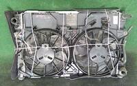 Радиатор охлаждения в сборе двигателя с диффузором, моторчиками и крыльчатками, АКПП FORD ESCAPE 2000,2001,2002,2003,2004,2005,2006