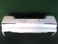 Бампер задний белый с парктроником и молдингами (царапины) NISSAN TEANA J32 2008,2009,2010,2011