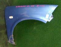 Крыло переднее правое синее с повторителем NISSAN AD II Y11 1999,2000,2001,2002,2003,2004,2005,2006,2007,2008