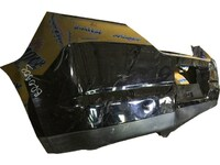 Бампер задний черный NISSAN TIIDA C11 2007,2008,2009,2010,2011,2012,2013,2014