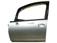 Дверь передняя левая серебро в сборе (потертости) MITSUBISHI COLT PLUS IV Z20 2004,2005,2006,2007,2008,2009,2010,2011,2012
