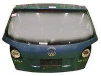 Крышка багажника голубая в сборе со стеклом, с обшивкой, с моторчиком дворника, с фонарями, с петлями VOLKSWAGEN GOLF V 1K1 / 1K5 2003,2004,2005,2006,2007,2008,2009