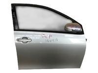 Дверь передняя правая серебро в сборе без зеркала TOYOTA COROLLA FIELDER E140 2006-2012