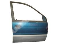 Дверь передняя правая голубая в сборе (вмятина) MITSUBISHI RVR I N1 / N2 1991,1992,1993,1994,1995,1996,1997