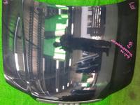 Капот темно-синий в сборе с шумоизоляцией, решетка радиатора AUDI A4 B6 2000,2001,2002,2003,2004,2005,2006