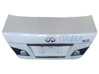 Крышка багажника перламутр с обшивкой, с замком, с фонарями INFINITI M
