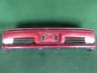 Бампер передний красный в сборе с ПТФ и антенной TOYOTA CROWN S170 1999-2007