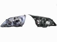 Фара левая линзованная, под корректор HONDA CR-V III RE 2006,2007,2008,2009,2010,2011,2012