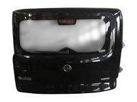 Крышка багажника черная в сборе со стеклом, с обшивкой, с моторчиком дворника NISSAN CUBE II Z11 2002,2003,2004,2005,2006,2007,2008