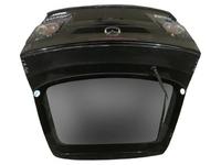 Крышка багажника черная в сборе со стеклом, со спойлером, с фонарями, с петлями MAZDA 6 GG / GY 2002,2003,2004,2005,2006,2007,2008
