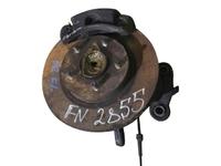 Кулак поворотный левый в сборе диск, суппорт NISSAN PRIMERA III P12 2002,2003,2004,2005,2006,2007,2008