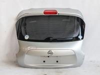 Крышка багажника серебро в сборе со стеклом (подмята сверху) NISSAN JUKE YF15 2014,2015,2016,2017,2018,2019