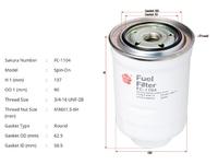 Фильтр топливный MAZDA BT-50