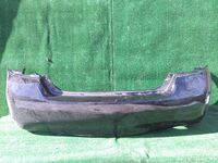 Бампер задний черный (царапины) NISSAN FUGA II Y51 2009,2010,2011,2012,2013,2014,2015,2016,2017,2018,2019,2020