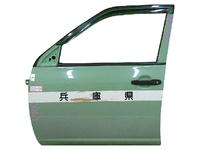 Дверь передняя левая зеленая в сборе TOYOTA PROBOX / SUCCEED XP 50 2002-2014