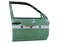 Дверь передняя правая зеленая в сборе TOYOTA PROBOX / SUCCEED XP 50 2002-2014