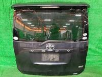 Крышка багажника фиолетовая в сборе со стеклоочистителем, спойлер, камера TOYOTA NOAH / VOXY R70 2007-2014