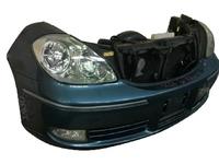 Ноускат синий в сборе бампер, радиатор, суппорт радиатора, фары-ксенон, ПТФ, усилитель, решетка бампера, бачок, диффузор TOYOTA BREVIS G10 2001-2007