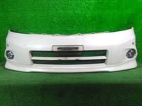 Бампер передний белый в сборе с ПТФ, парктроником и губой NISSAN PRESAGE II U31 2003,2004,2005,2006,2007,2008,2009